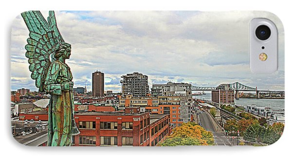 Angel Of Old Montreal IPhone Case by Alice Gipson