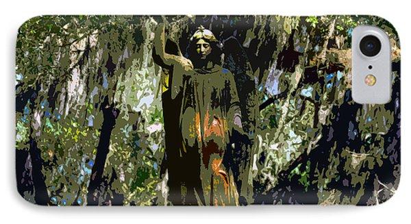 Angel Of Savannah Phone Case by David Lee Thompson
