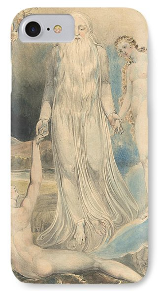 Angel Of The Divine Presence Bringing Eve To Adam IPhone Case