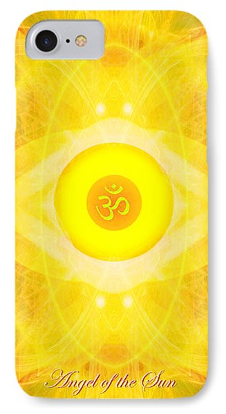 Angel Of The Sun IPhone Case by Diana Haronis