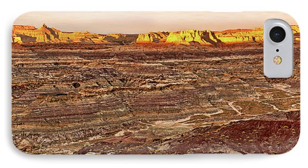 IPhone Case featuring the photograph Angel Peak Badlands - New Mexico - Landscape by Jason Politte