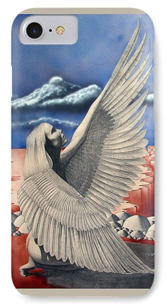 Angel IPhone Case by Shaun McNicholas