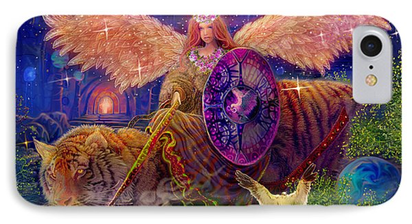 Angel Tarot Card Angel Fairy Dream IPhone Case by Steve Roberts