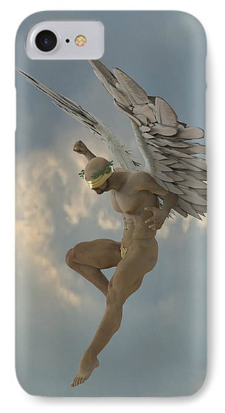 Angel That Watches IPhone Case by Joaquin Abella