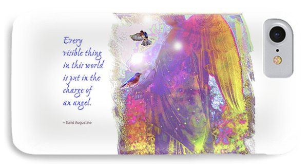 IPhone Case featuring the photograph Angel Vision by Marie Hicks