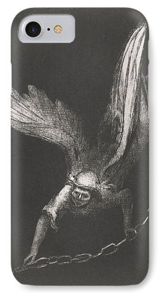 Angel With A Chain In His Hands IPhone Case
