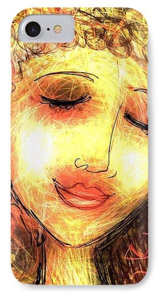 Angela IPhone Case by Elaine Lanoue