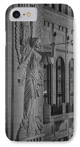 Angelic Herald - Bass Hall IPhone Case by Stephen Stookey