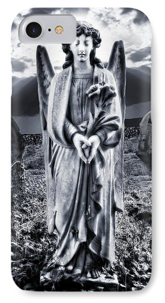 Angelic Light Phone Case by Meirion Matthias