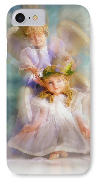 IPhone Case featuring the digital art Angelic by Tom Druin