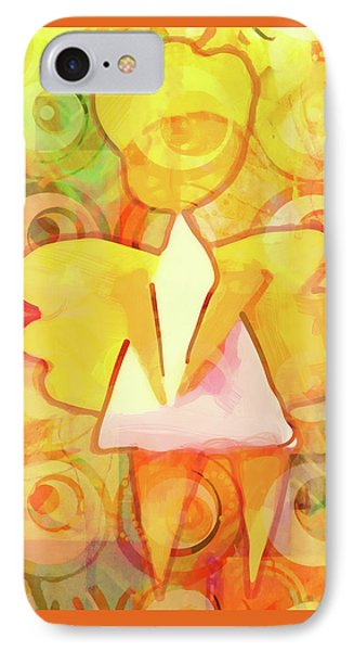 Angelino Yellow IPhone Case
