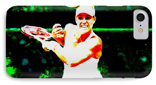 Angelique Kerber 3c IPhone Case by Brian Reaves