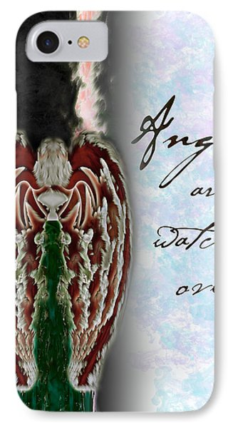 Angels Are Watching Over Us IPhone Case by Christopher Gaston