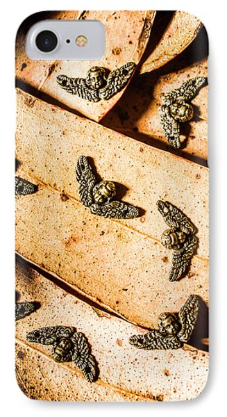 Angels With Wings IPhone Case by Jorgo Photography - Wall Art Gallery