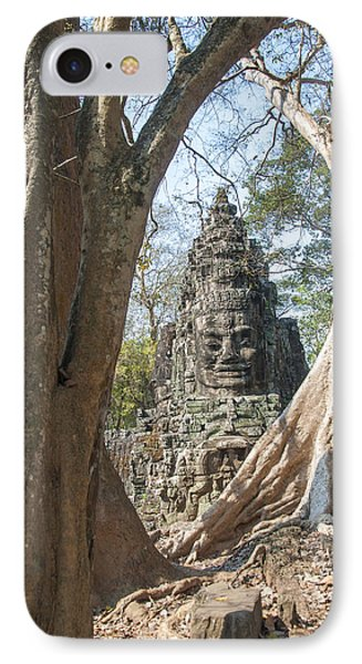 Angkor Thom South Gate IPhone Case by Rob Hemphill