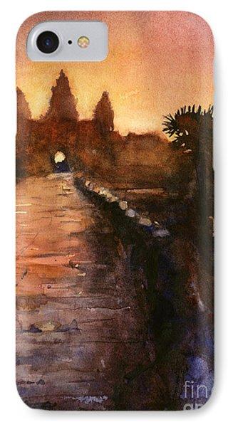 Angkor Wat Sunrise 2 Phone Case by Ryan Fox