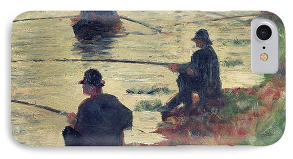 Anglers Phone Case by Georges Pierre Seurat