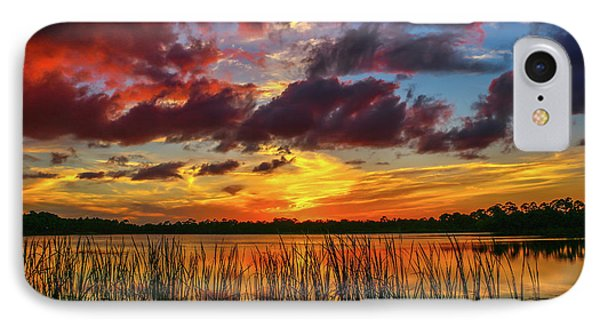 Angry Cloud Sunset IPhone Case