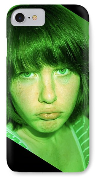 Angry Envy IPhone Case by Jane Autry
