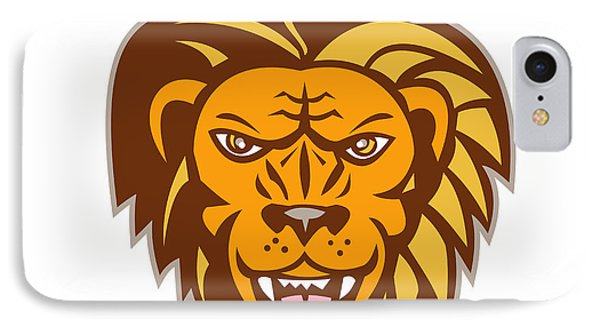 Growling Lion iPhone 7 Cases | Fine Art America