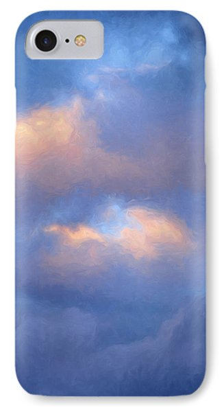Angry Sky Over The Adirondacks IPhone Case by George Robinson