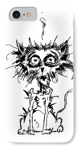 Angst Cat IPhone 7 Case