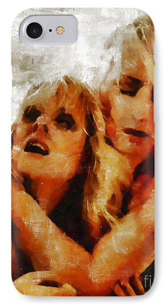 Anguish By Mary Bassett IPhone Case by Mary Bassett