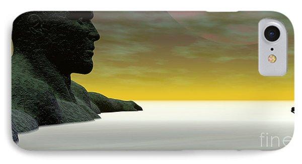 Anguish IPhone Case by Sandra Bauser Digital Art