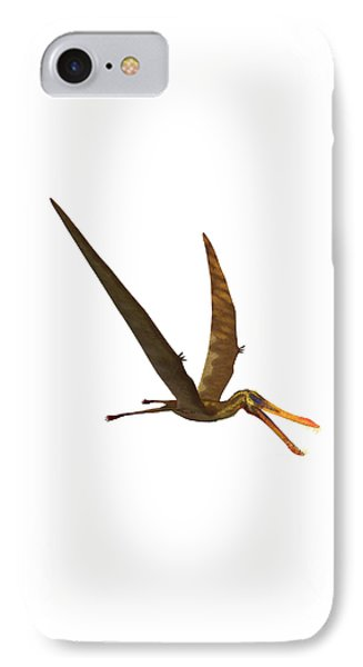Anhanguera Pterosaur Phone Case by Corey Ford