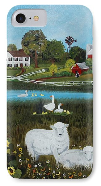 Animal Farm IPhone Case by Virginia Coyle