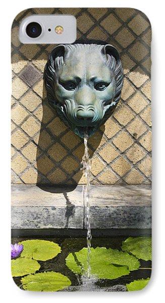 Animal Fountain Head Phone Case by Teresa Mucha