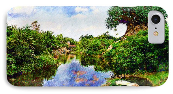 IPhone Case featuring the digital art Animal Kingdom Tranquility by Sandy MacGowan