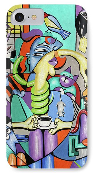 Animal Lover IPhone Case by Anthony Falbo