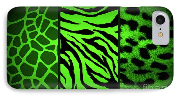 Animal Prints IPhone Case by Donna Bentley