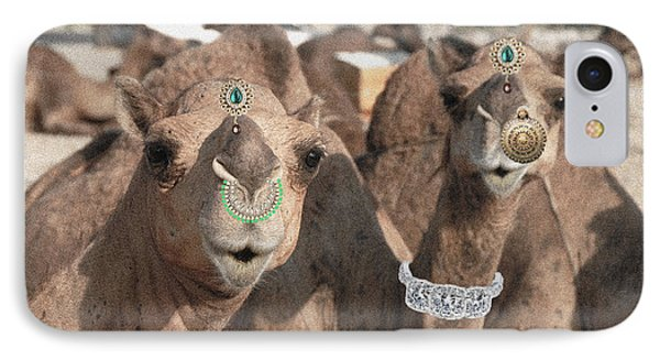 Animal Royalty 5 IPhone Case by Sumit Mehndiratta