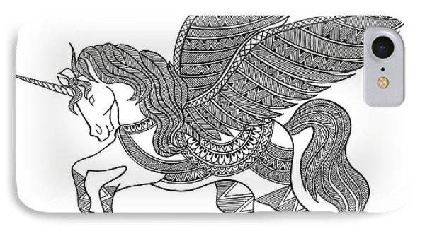 Unicorn iPhone 7 Case - Animal Unicorn by Neeti Goswami