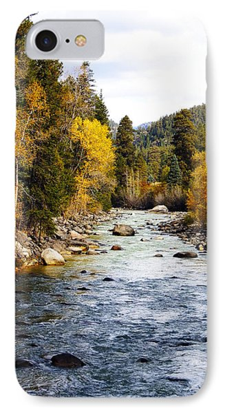 IPhone Case featuring the photograph Animas River by Kurt Van Wagner