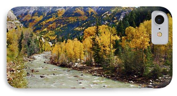 IPhone Case featuring the photograph Animas River San Juan Mountains Colorado by Kurt Van Wagner