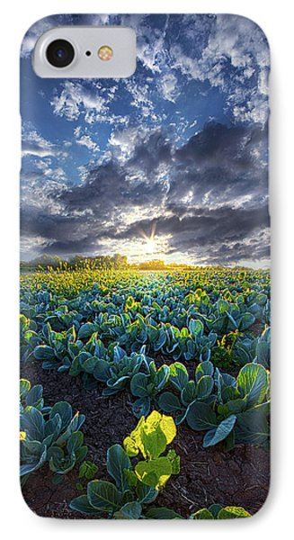 Cabbage iPhone 7 Case - Ankle High In July by Phil Koch