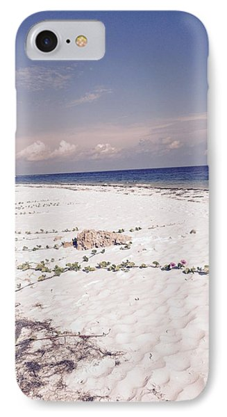 Anna Maria Island Beyond The White Sand IPhone Case by Jean Marie Maggi