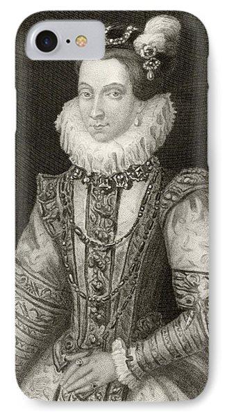 Anna Of Austria, 1549 To 1580. Queen IPhone Case