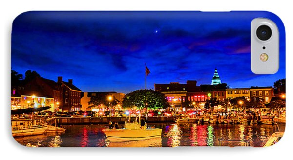 Annapolis Magic Night IPhone Case