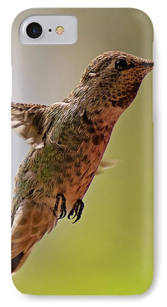 IPhone Case featuring the photograph Anna's Hummingbird H24 by Mark Myhaver
