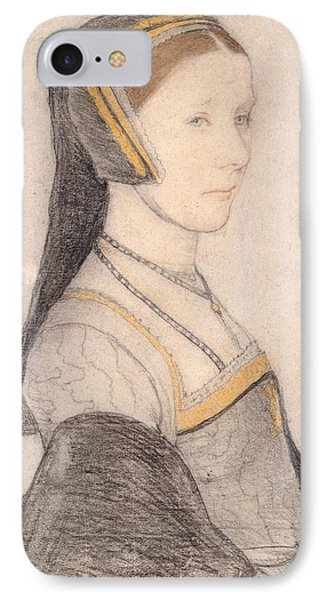 Anne Cresacre IPhone Case by Hans Holbein the Younger