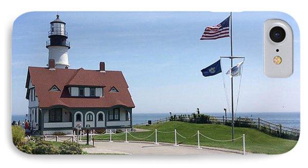 Portland Lighthouse ----- Edit IPhone Case
