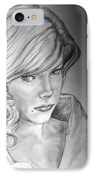 Anne Francis Phone Case by Bryan Bustard