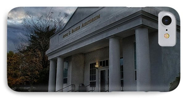 Anne G Basker Auditorium In Grants Pass IPhone Case by Mick Anderson