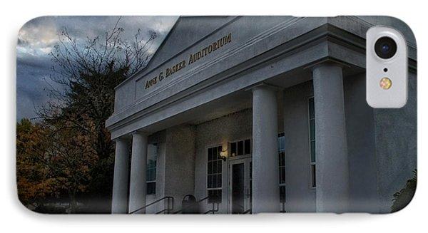 Anne G Basker Auditorium In Grants Pass IPhone Case