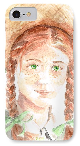 Anne Of Green Gables IPhone Case by Andrew Gillette