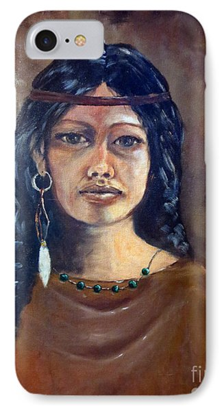 Anne Wolfe IPhone Case by Lee Piper